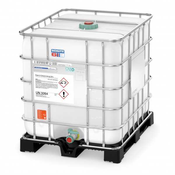 Eisen-II-Chloridlösung 30% (1200 kg IBC Container)